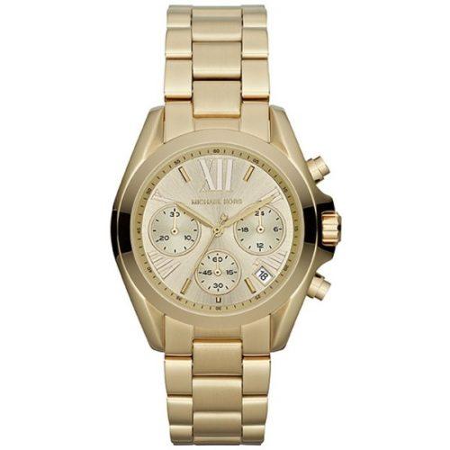 Michael Kors Bradshaw Women's Silver Dial Stainless Steel Chronograph Watch [MK5798]